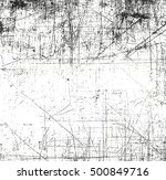 distressed overlay texture of... | Shutterstock .eps vector #500849716