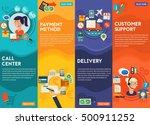 customersupport  call center ... | Shutterstock .eps vector #500911252