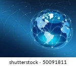 best concept of global business | Shutterstock . vector #50091811