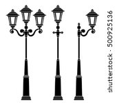street lamps collection lantern ...