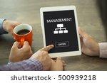 management concept | Shutterstock . vector #500939218