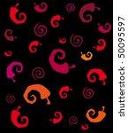 seamless chili pepper... | Shutterstock .eps vector #50095597