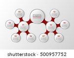 infographics template for...   Shutterstock .eps vector #500957752