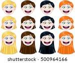 vector illustration pack of... | Shutterstock .eps vector #500964166