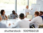 seminar for economists | Shutterstock . vector #500986018