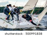konakovo   april 19   team... | Shutterstock . vector #500991838