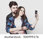 tehnology  internet  emotional  ... | Shutterstock . vector #500999176