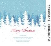 vector background  merry... | Shutterstock .eps vector #501005632