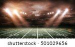 american football stadium 3d... | Shutterstock . vector #501029656