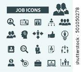 job icons | Shutterstock .eps vector #501050278