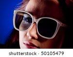 american woman. | Shutterstock . vector #50105479