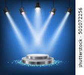 set of vector scenic spotlights | Shutterstock .eps vector #501072256