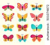 set of illustrations...   Shutterstock .eps vector #501074872