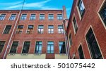 administrative building. brick... | Shutterstock . vector #501075442