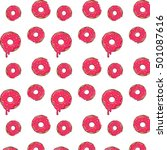 donut picture for t shirt ... | Shutterstock . vector #501087616