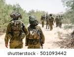 Israeli Combat Soldiers Of An...