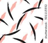 simple modern geometric chevron ... | Shutterstock .eps vector #501115552