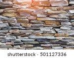 Blurred Modern Brick Texture...