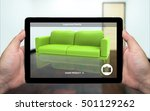 augmented reality marketing... | Shutterstock . vector #501129262