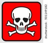 sign  life threatening  fatal ... | Shutterstock .eps vector #501149182