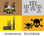 radiation icon. may present...