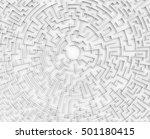 3d rendering maze  top view of...   Shutterstock . vector #501180415