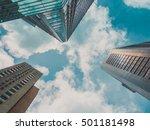 skyscraper building and sky view | Shutterstock . vector #501181498