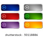 colored buttons   Shutterstock .eps vector #50118886