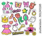 Girl Princess Badges  Patches ...