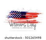 creative illustration poster or ... | Shutterstock .eps vector #501265498
