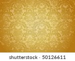 vintage grunge brown pattern ... | Shutterstock .eps vector #50126611