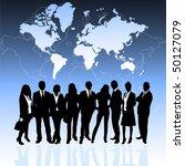 business people | Shutterstock .eps vector #50127079