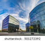 modern office building | Shutterstock . vector #501272392