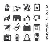 election icons | Shutterstock .eps vector #501274165