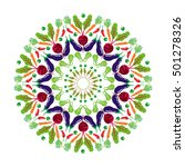 vegetable mandala with beets ...   Shutterstock .eps vector #501278326