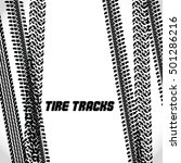 trace of off road tires. vector ... | Shutterstock .eps vector #501286216