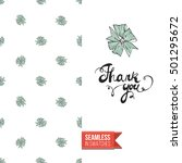 vector greeting card for... | Shutterstock .eps vector #501295672