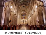 Interior Of The Cathedral Of...