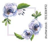 Wildflower Anemone Flower Fram...