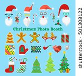 merry christmas and happy new... | Shutterstock .eps vector #501308122