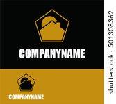 construction company logo | Shutterstock .eps vector #501308362