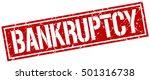 bankruptcy. grunge vintage... | Shutterstock .eps vector #501316738