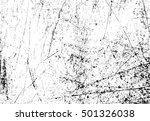 grunge overlay texture.... | Shutterstock .eps vector #501326038