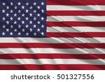 flag of united states of... | Shutterstock . vector #501327556