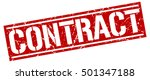 contract. grunge vintage... | Shutterstock .eps vector #501347188