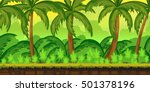 jungles landscape for ui game ... | Shutterstock . vector #501378196