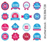 web stickers  banners and... | Shutterstock .eps vector #501386728