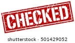 checked. grunge vintage checked ... | Shutterstock .eps vector #501429052