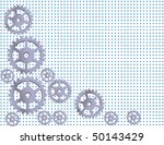 abstract metal background with... | Shutterstock .eps vector #50143429