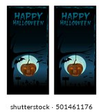 halloween design. happy... | Shutterstock . vector #501461176